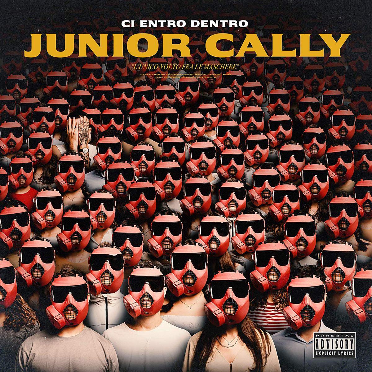 Junior Cally Ci entro dentro cover