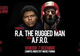 4 biglietti in palio per R.A. The Rugged Man a Parma: vincine 2!