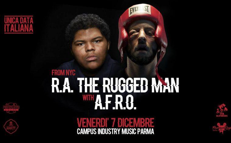 4 biglietti in palio per R.A. The Rugged Man a Parma: vincine 2!
