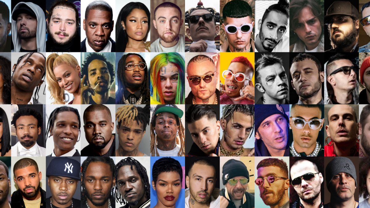 migliori dischi rap 2018