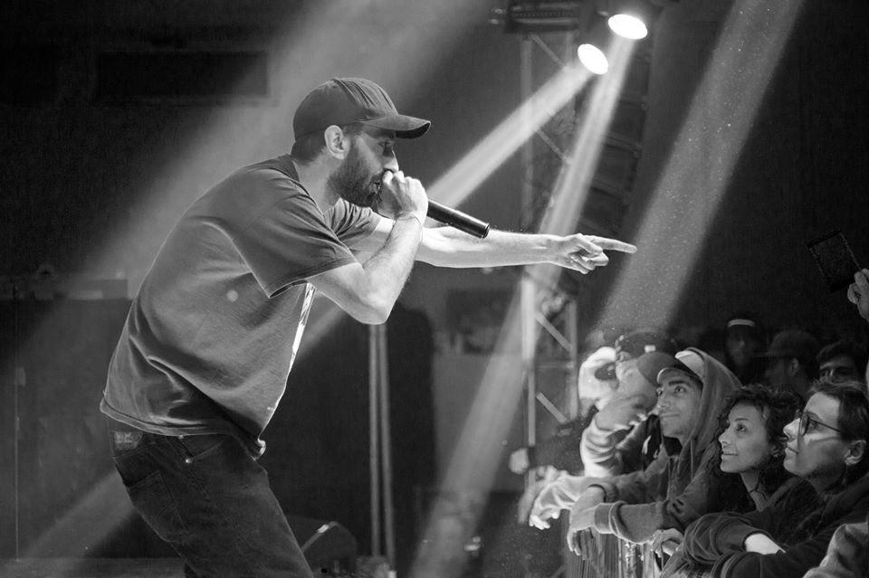 Dank, Dhap e DJ Proto - Khay si esibiscono a Parma il 31/01