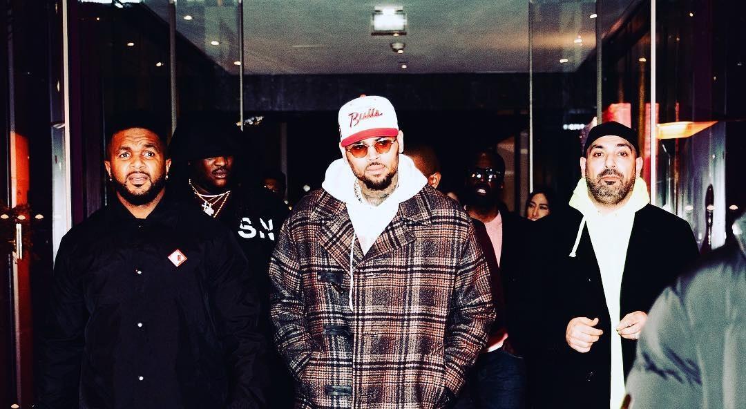 Chris Brown è stato arrestato a Parigi