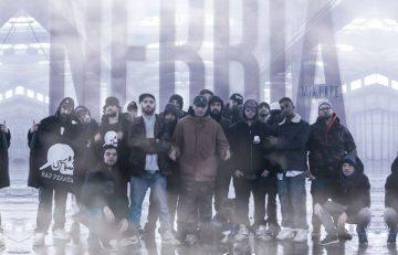 Il collettivo Rap Pirata Lombardia nel video di Nebbia