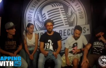 Rapping with Dabadub Sound System e Keso