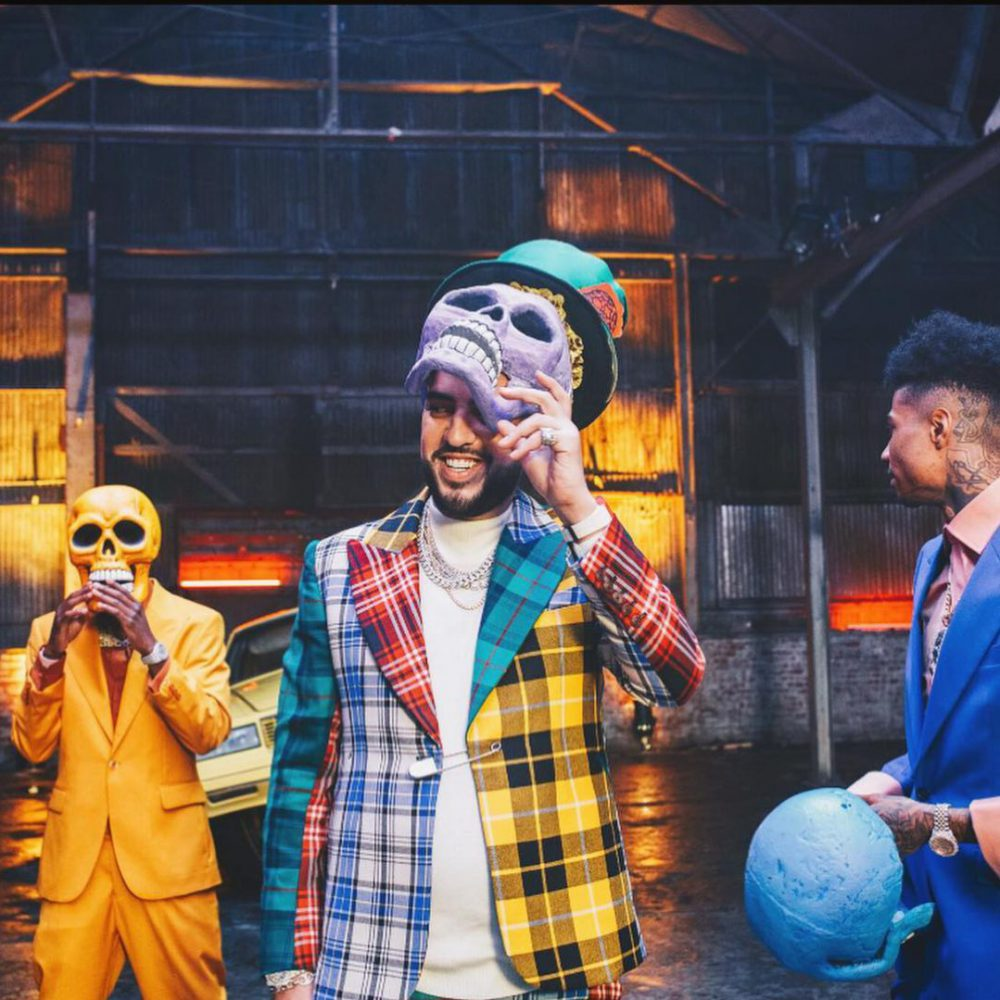 French Montana, Blueface e Lil Tjay nel video di Slide