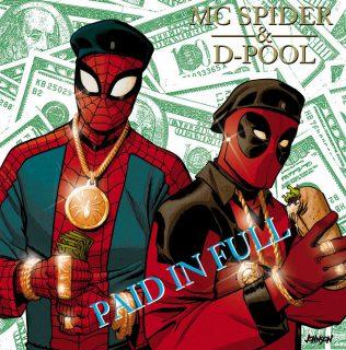 Spider Man Deadpool Hip Hop Variant.0
