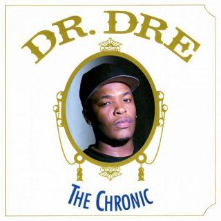 the chronic dr dre album font