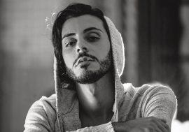 Blayk alla Partita del cuore 2019 con il singolo Astratto