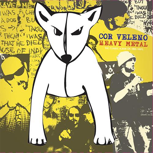Cor Veleno: Heavy Metal ristampato in doppio vinile