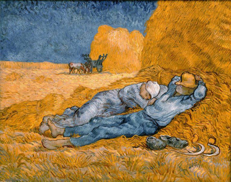 Mezzogiorno Riposo dal lavoro Van Gogh analisi