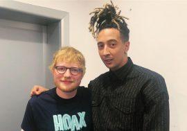 Ecco la versione inedita del brano Antisocial di Ed Sheeran con Ghali