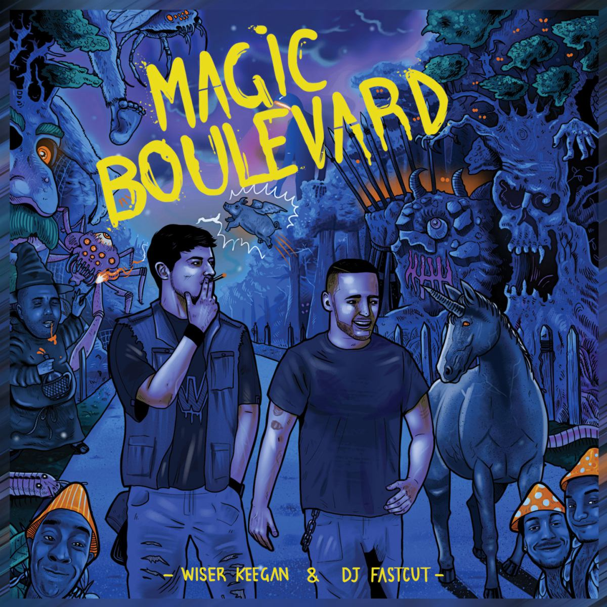 wiser copertina magic boulevard spotify