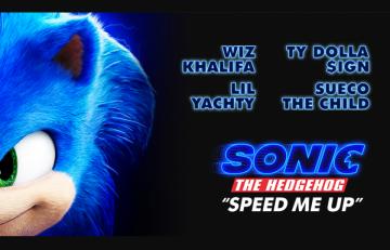 Con Sonic The Hedgehog il rap torna sul grande schermo