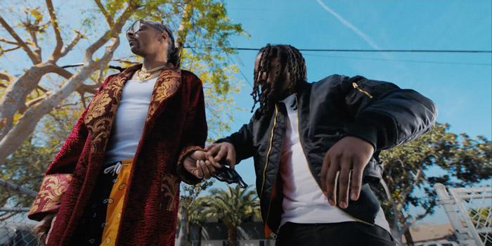 D Smoke & Snoop Dogg nel video di Gaspar Yanga