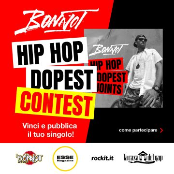 Bonnot annuncia l'album Hip Hop Dopest Joints dando il via ad un contest