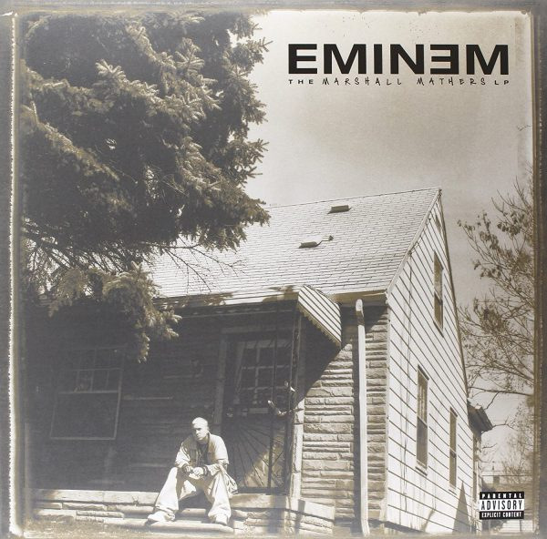 the marshall mathers lp cover