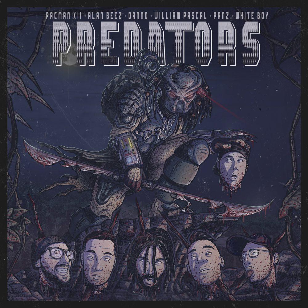 pacman xii cover Predators