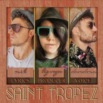 Liz Vega alla produzione di Saint Tropez
