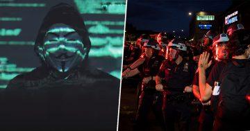 Fuck Tha Police il grido di Anonymous per George Floyd