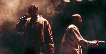 Kanye West e Travis Scott pubblicano Wash Us in The Blood