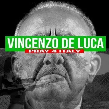 Vincenzo De Luca di Gionni Grano anticipa Pray 4 Italy