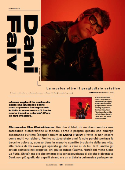 Dani Faiv Billboard Italia giugno 2020