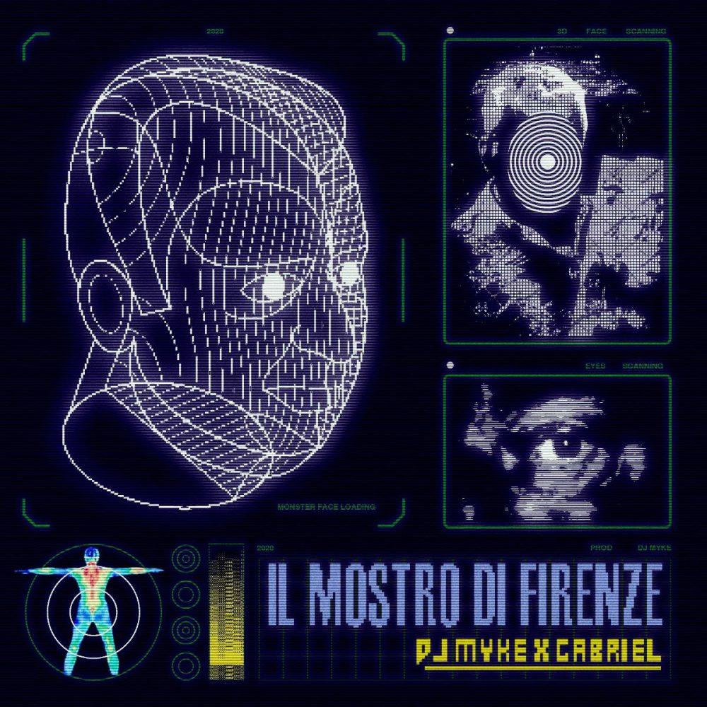 Copertina il mostro di Firenze Gabriel DJ Myke