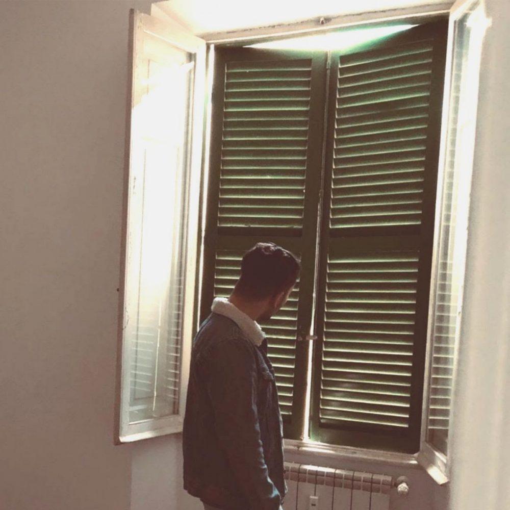 Sulla mia finestra Alessandro Proietti cover