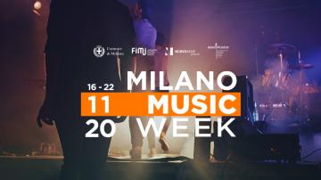 Inizia oggi la Milano Music Week 2020, un'edizione online e piena di eventi