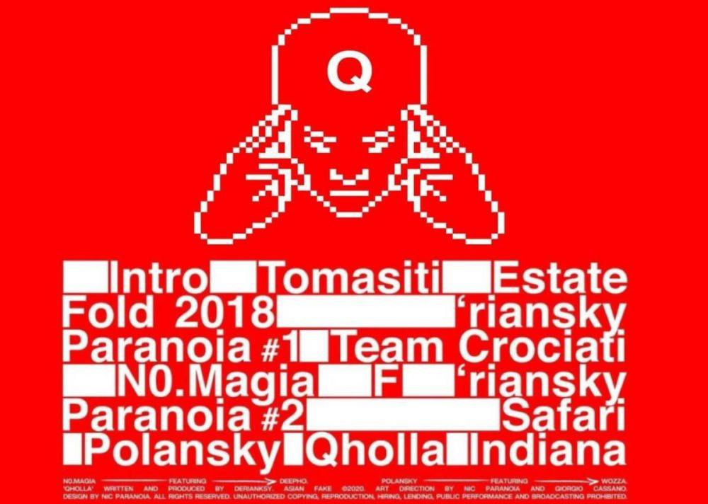 Qholla tracklist