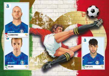 Salmo, Clementino, Tony Effe e molti altri sono nell'album Calciatori Panini 2021!
