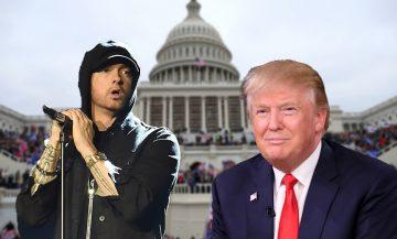 Uno sguardo all'assalto di Capitol Hill con i versi di Eminem
