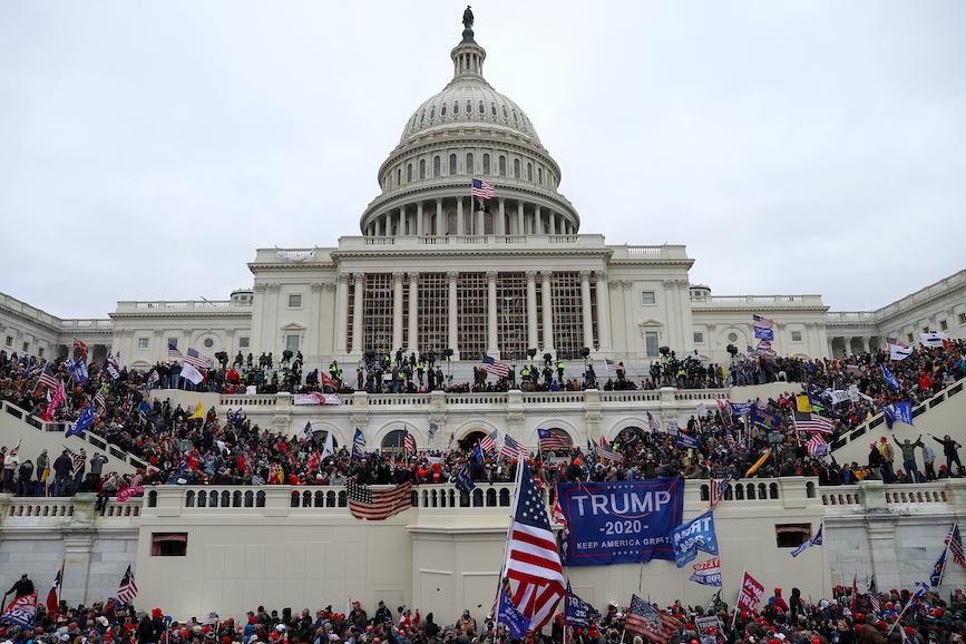 Proteste Capitol Hill Trump
