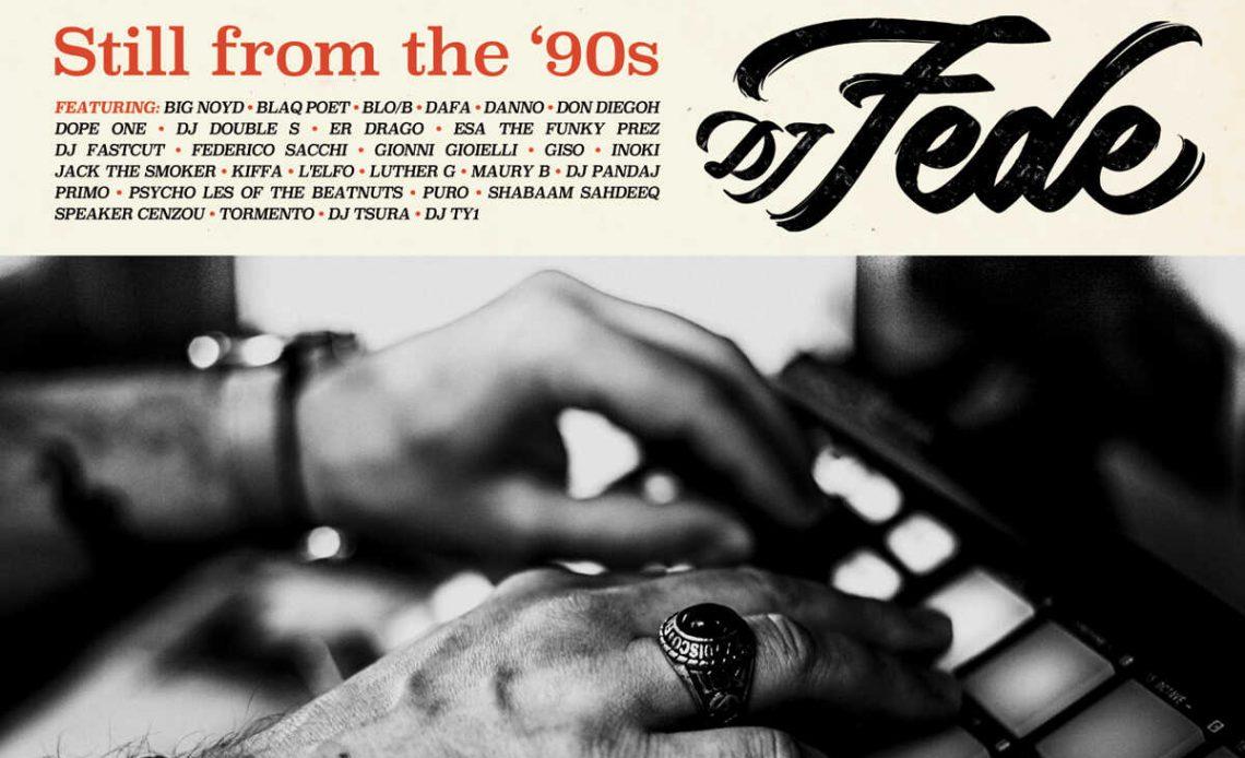 DJ Fede Still from the 90s copertina