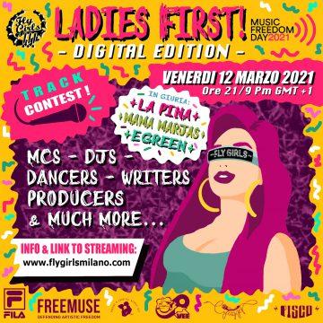 Fly Girls Milano presenta Ladies First 2021 Digital Edition: iscriviti al contest e partecipa!