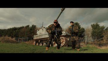 Puro aka Soultrain, Cypha Killa e Luther G insieme in Battlefield