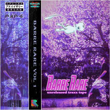 William Pascal pubblica Barre Rare Vol.1 - Unreleased Traxx Tape
