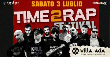 Ecco Time 2 Rap Festival: Metal Carter, Chef Ragoo, Supremo 73 e molti altri saliranno sul palco di Villa Ada! (Acquista i biglietti con Lacasadelrap)